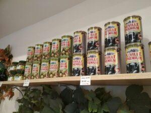Nabídka oliv